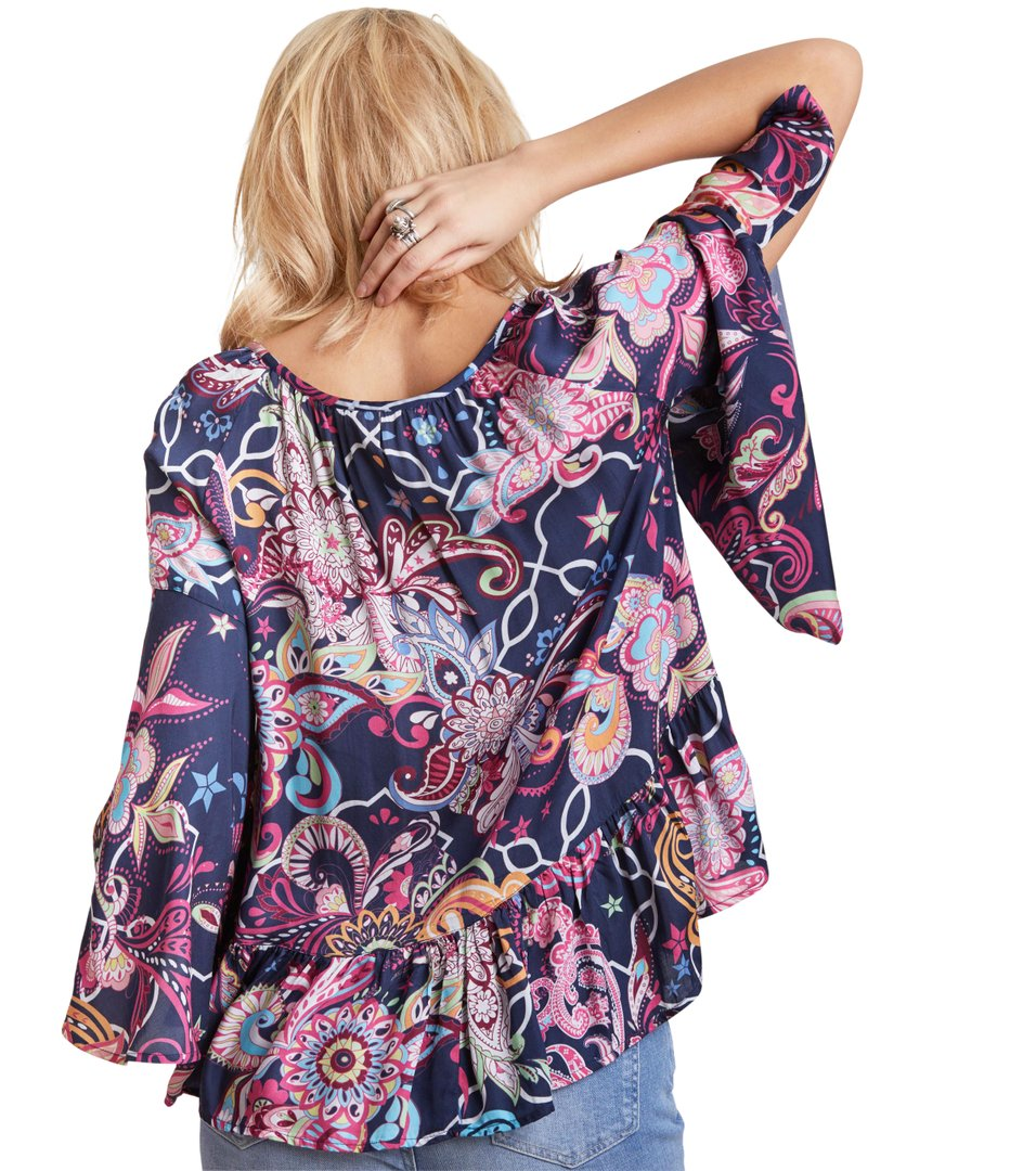 91eff3f50429 Odd Molly - the gardener l s blouse - DARK BLUE