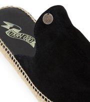 Odd Molly - slippin' espadrillo slipper - ALMOST BLACK