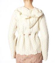 Odd Molly - lessore knit jacket - WINTER WHITE