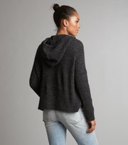 Odd Molly - one and only hood sweater - DARK GREY