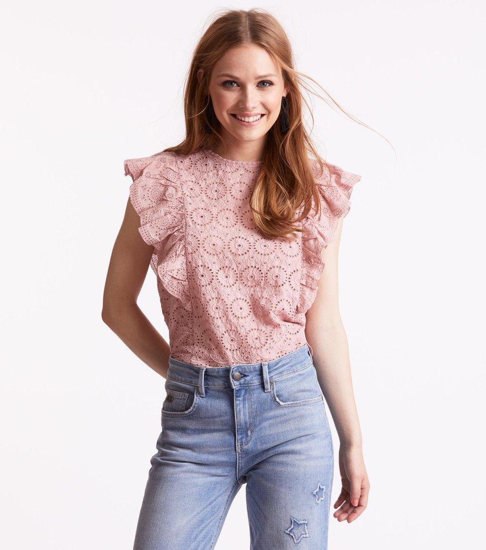 side kick s/s blouse ...