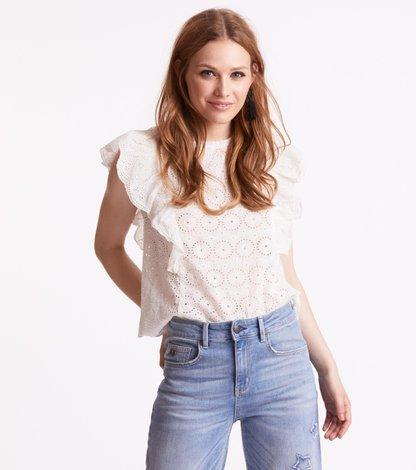 side kick s/s blouse