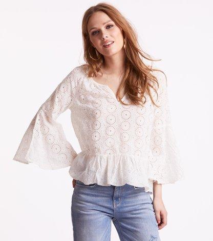 side kick l/s blouse
