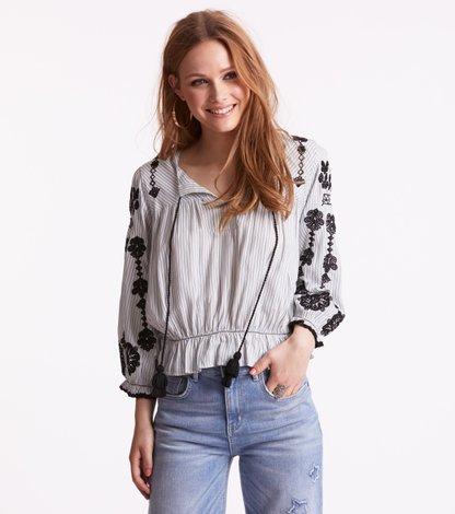 sparkling l/s blouse