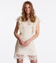 Odd Molly - bright side dress - LIGHT CHALK