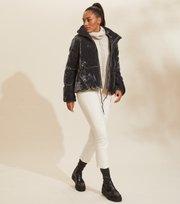 Odd Molly - embrace velvet jacket - ASPHALT