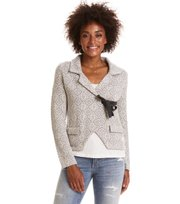Odd Molly - lovely knit jacket - LIGHT GREY MELANGE