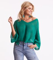 Odd Molly - mad about sweater - TROPIC GREEN