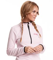 Odd Molly - storm mid layer solid sweater - SORBET PINK