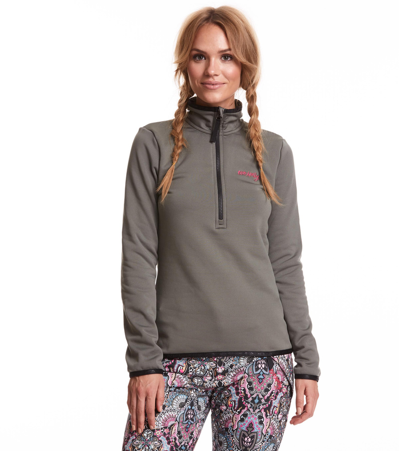 storm mid layer solid sweater