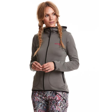 storm mid layer solid jacket