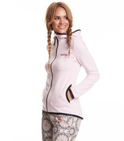 Odd Molly - storm mid layer solid jacket - SORBET PINK