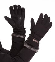 Odd Molly - fire place glove - ALMOST BLACK