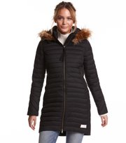 Odd Molly - earth saver long jacket - ALMOST BLACK