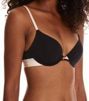 Odd Molly - love flame push-up bra - ALMOST BLACK