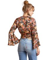 Lucky Draw Flower Blouse