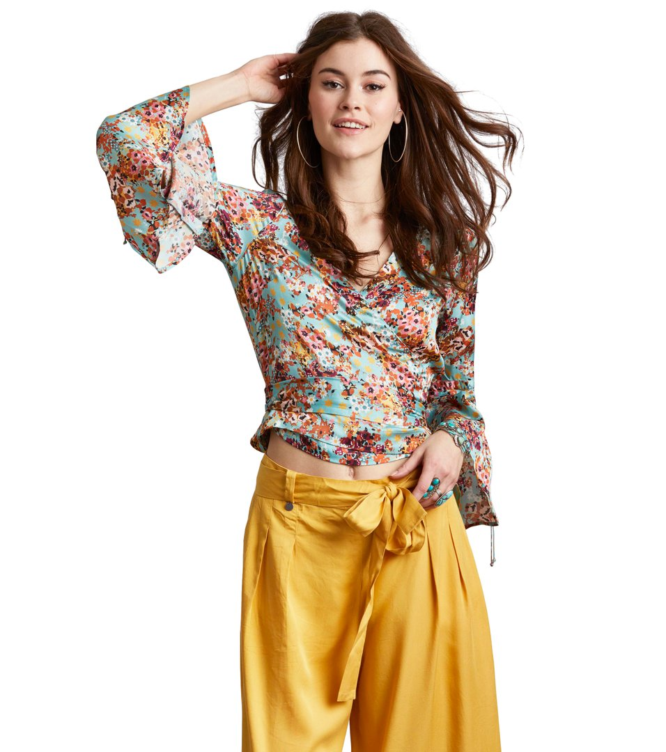 lucky draw flower blouse Odd Molly Grey Outlet Store Online Online Sale Cheap Best Store To Get gQUIvusm