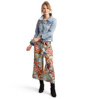 # lucky draw flower pants