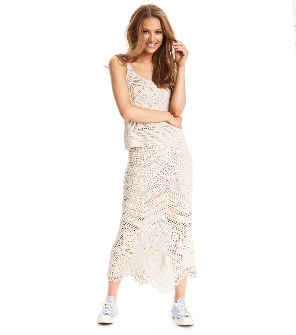 simply complex skirt