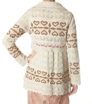 Odd Molly - exter knit cardigan - WINTER WHITE