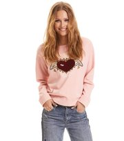 Odd Molly - fun and fair sweater - SHEER PINK