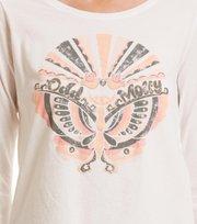 Odd Molly - love flow t-shirt - LIGHT CHALK