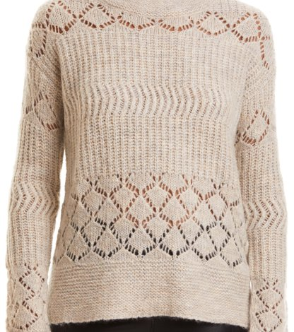 360975387e wolly blocks sweater. Our model is 177 cm tall and wears a size 1.