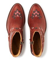Odd Molly - drop dead dazzling low boot - RED BROWN
