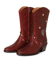Odd Molly - knock me out high boot - RED BROWN