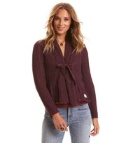 Odd Molly - can-can cardigan - BURGUNDY