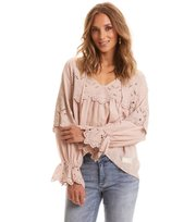 Odd Molly - flying with love blouse - SHADOW SAND