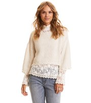 Odd Molly - good fellow short sweater - CHALK