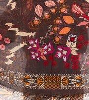 Odd Molly - cosmic dream scarf - ASPHALT