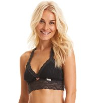 Odd Molly - lace oddity top - DARK ASPHALT