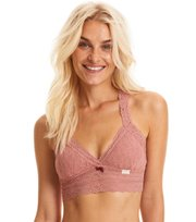 Odd Molly - lace oddity top - OLD ROSE