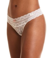 Lace Oddity Thong