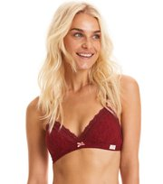 Odd Molly - lace oddity soft bra - BIKING RED