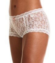Odd Molly - lace oddity hotpants - LIGHT CHALK