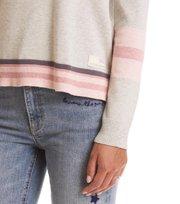 Odd Molly  - hoower sweater - LIGHT GREY MELANGE