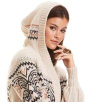 Arctic Wings Hood Sweater