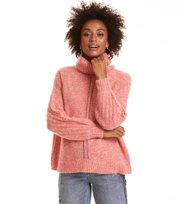 Odd Molly - High Heart Rollkragenpullover - RED CORAL