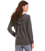 Warm And Vivid Hood Sweater