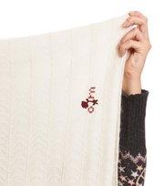 Odd Molly - warm and vivid tube scarf - CHALK
