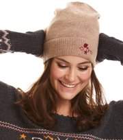 Odd Molly - warm and vivid beanie - TAN