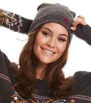 Odd Molly - warm and vivid beanie - GREY MELANGE