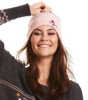 Odd Molly  - warm and vivid beanie - SHEER PINK