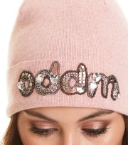 Odd Molly - pastel punk beanie - POWDER PINK