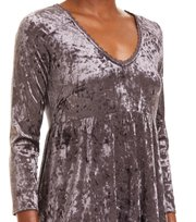 Odd Molly - just like me dress - SHADOW GREY