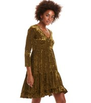 Odd Molly - just like me dress - HUNTER GREEN