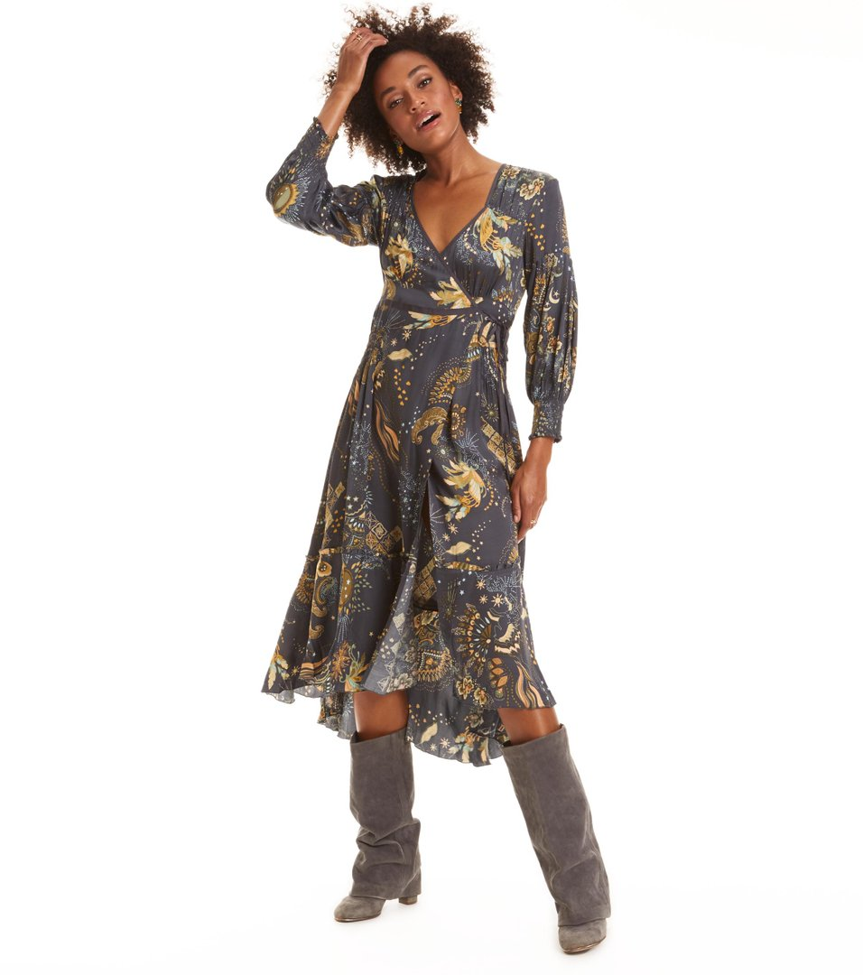 spirit wrap dress